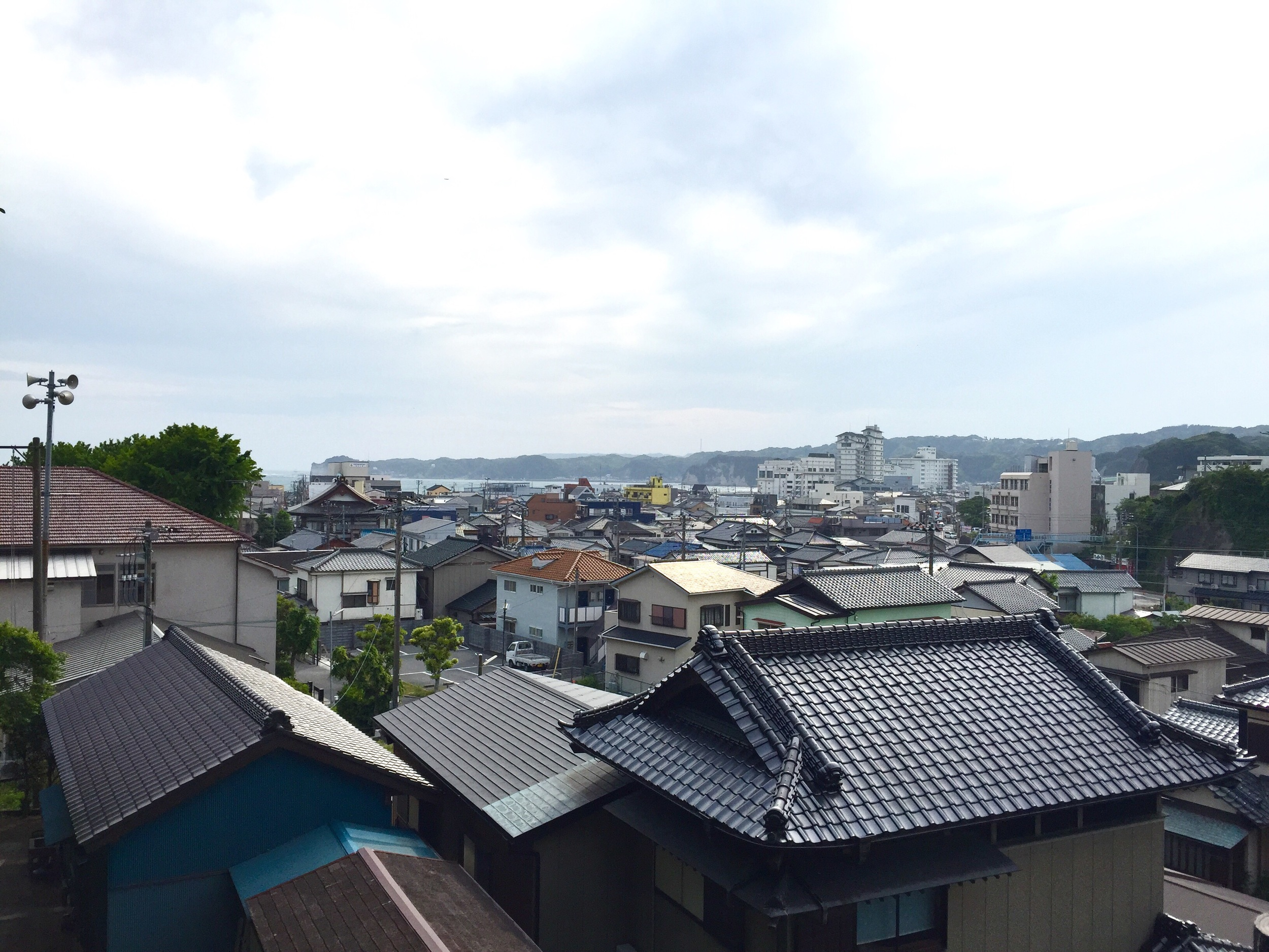 Katsuura , a major fishing port in southern Japan and the closest city to the above mentioned beach.