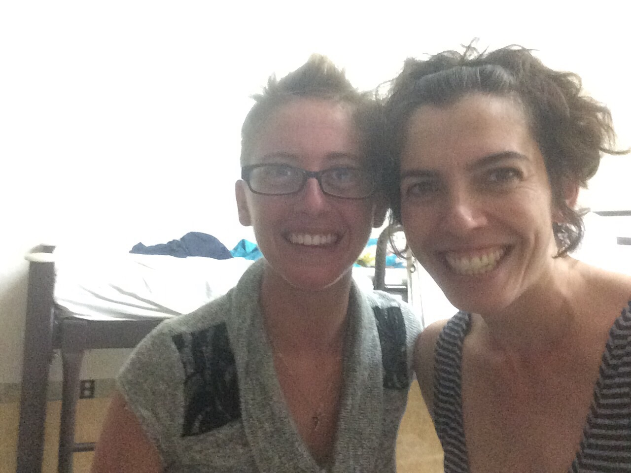 Me and Janelle, a fellow traveler, diver, and Denver resident.