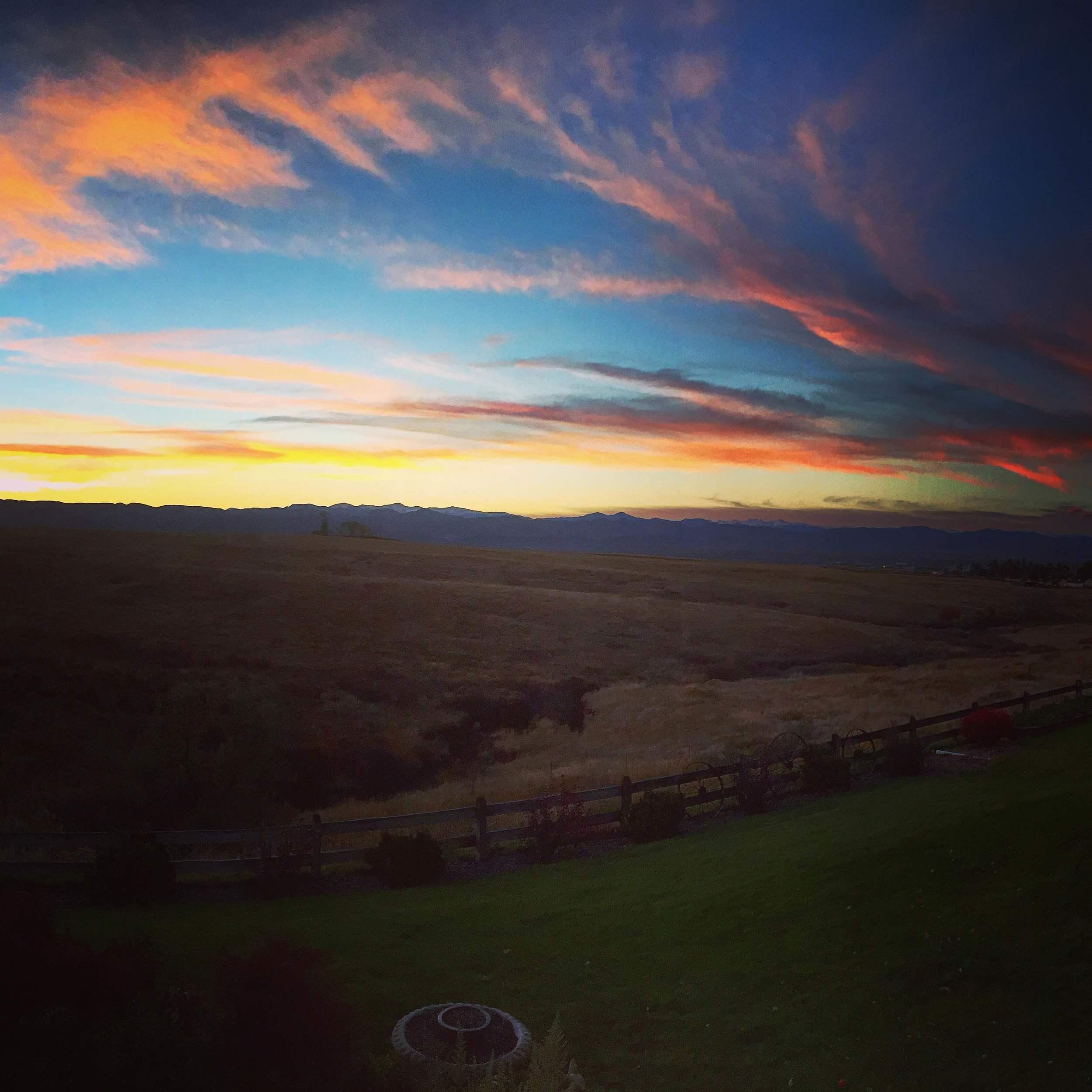 Colorado. Home sweet home.