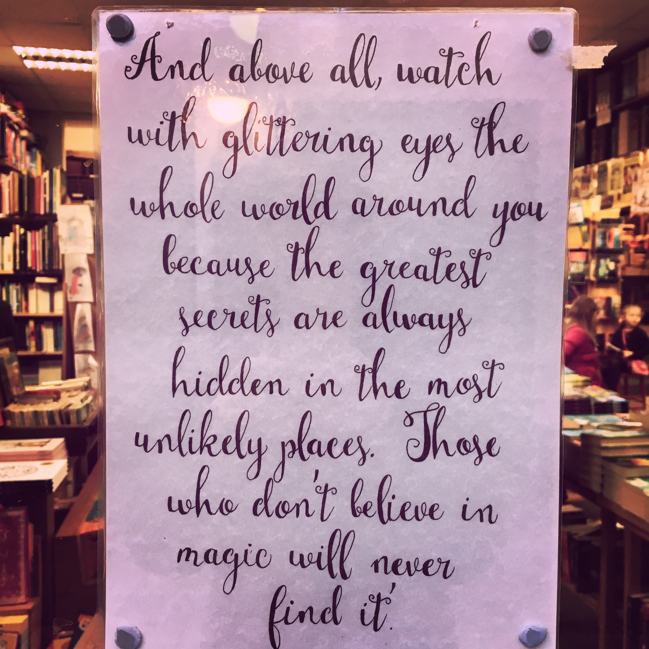 This bookstore in Galway says it best.