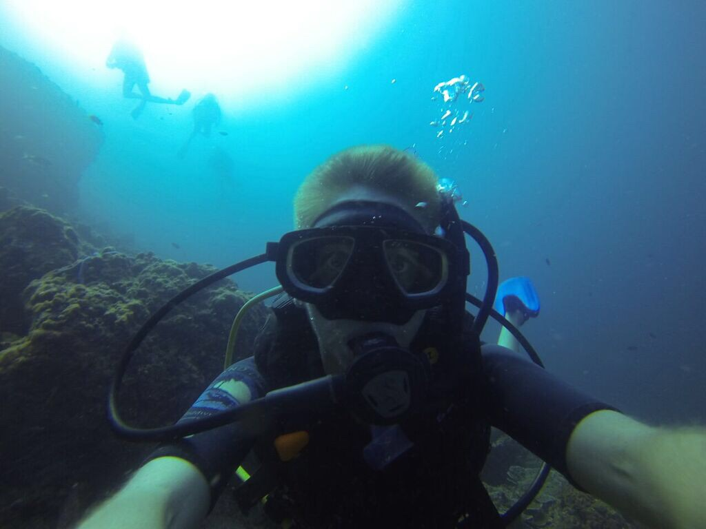 Throw back to some really awesome days working at a dive center on Koh Phi Phi island Thailand.