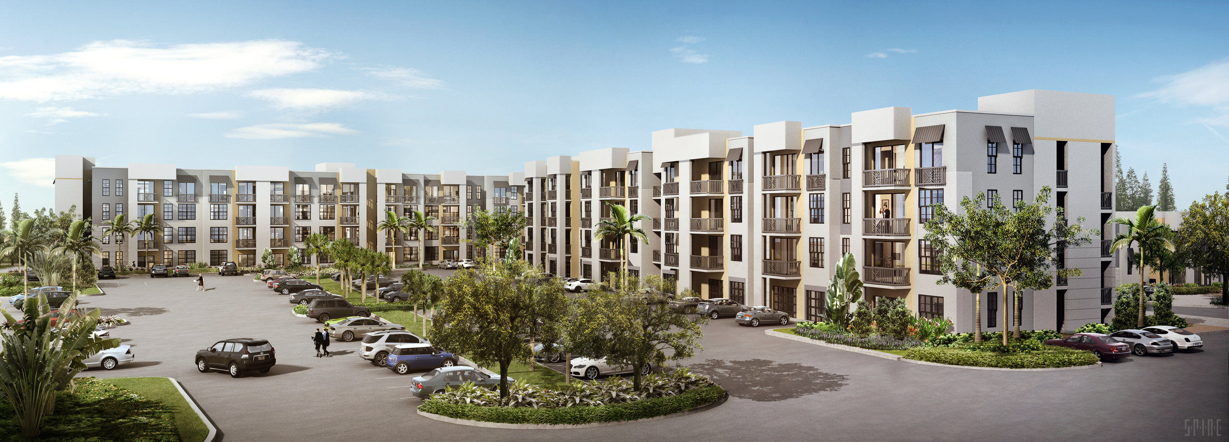 Rendering of the apartments at Cortina. Photo handout: Ram Real Estate