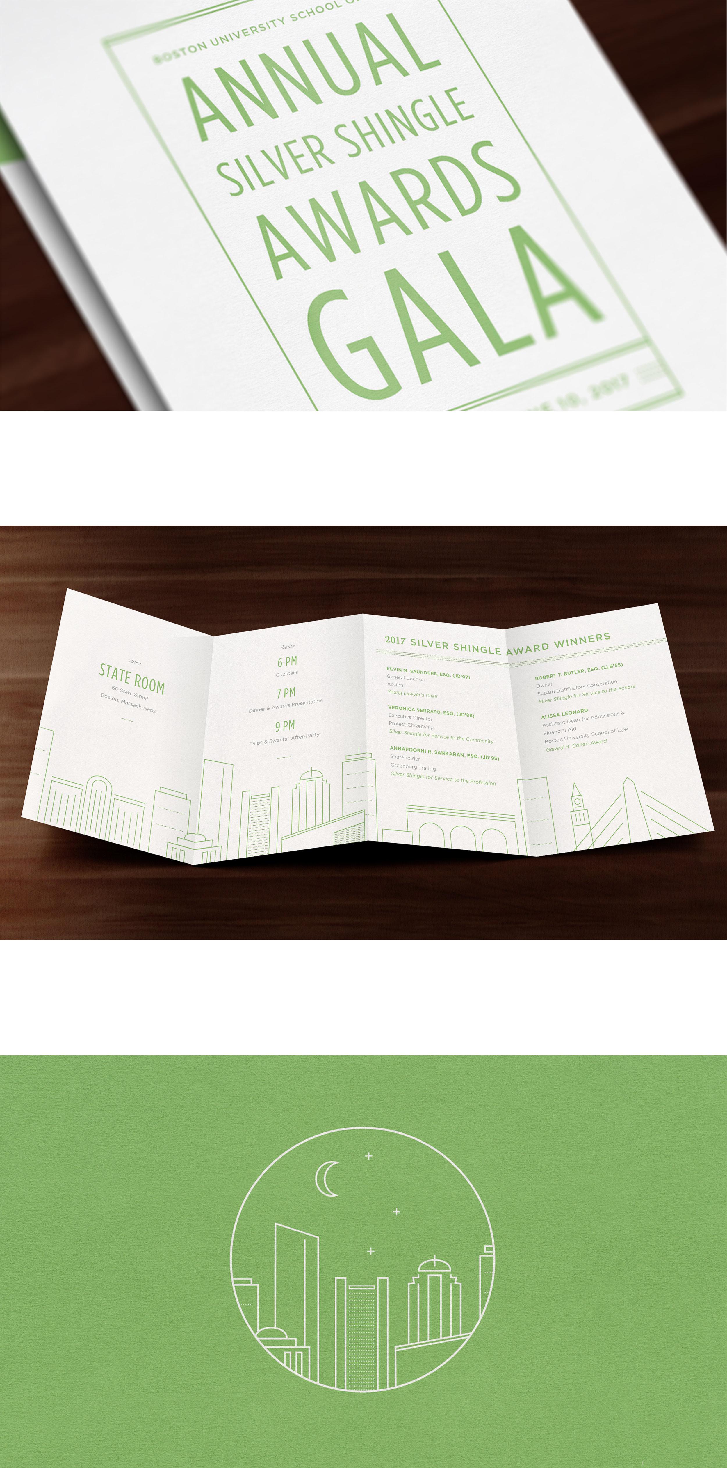 Kate Cunningham Design :: BU LAW SIlver Shingle Gala :: Collateral :: Invitation.jpg