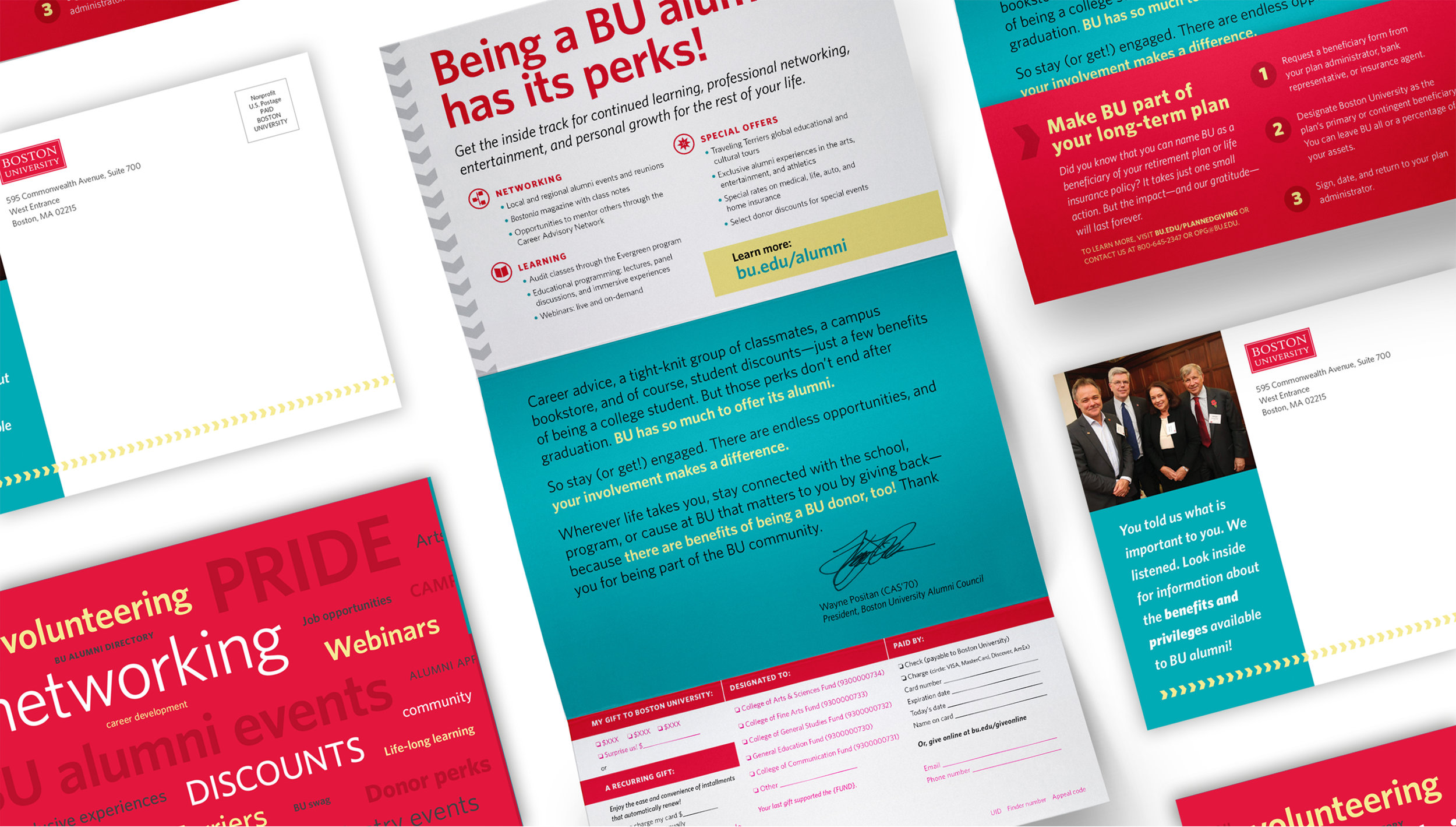 Kate Cunningham Design :: Boston University Appeal :: Collateral :: Trifold Appeal.jpg