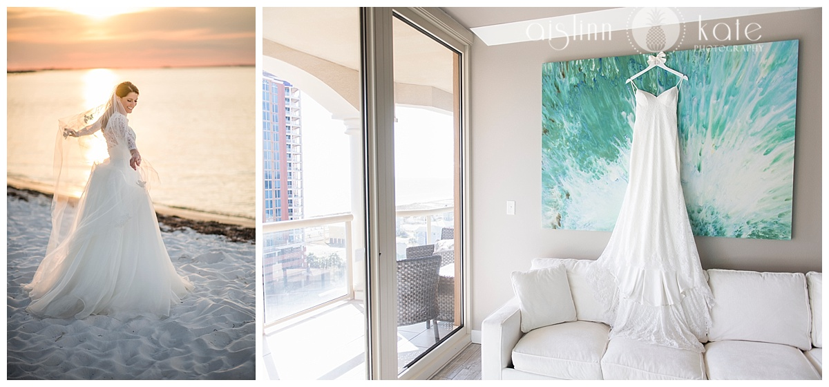 Portofino Island Resort  | Beach and Sky Home |  Caroline + Sam  |  Anna + Bobby