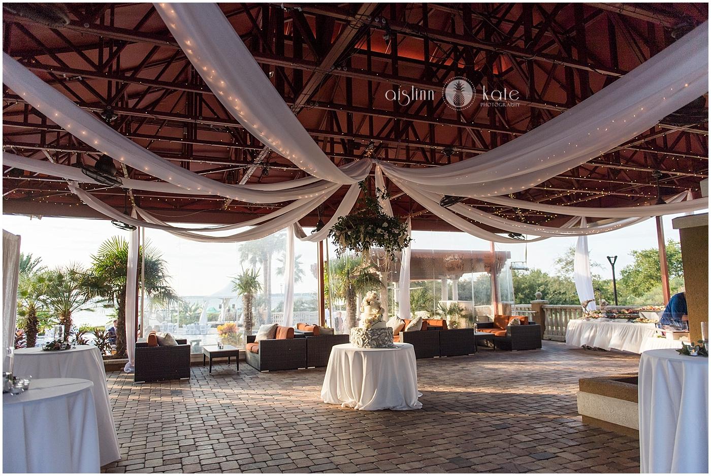 Portofino Island Resort  | Open Air Reception Pavilion |  Caroline + Joiner