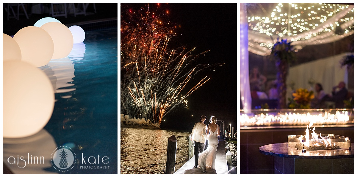 Portofino Island Resort  | Lower Pool Deck and Dock |  Caroline + Joiner