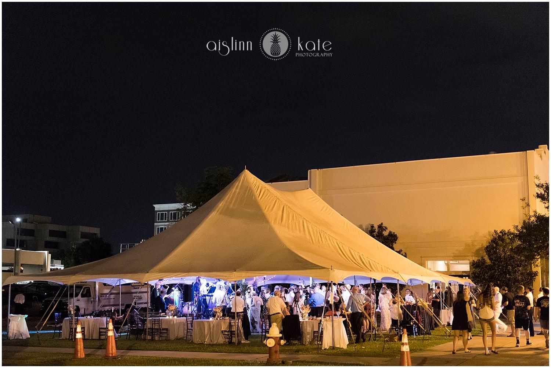 5eleven Palafox    |    P    S Weddings    | Lauren + Matt  |  Tent:    Gulf Coast Tents