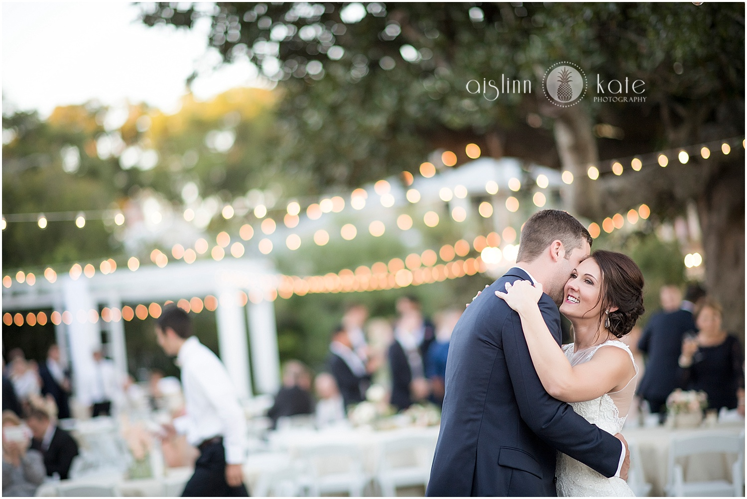 Barkley House  | Outdoor Reception |  Melissa + Mike