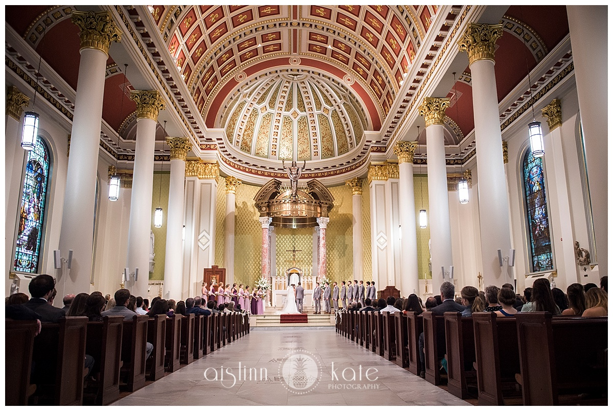 Noble Events  |  Cathedral Basilica of Immaculate Conception  |  Kirk House  |  Soho Events and Rentals  |  Addie + Mark