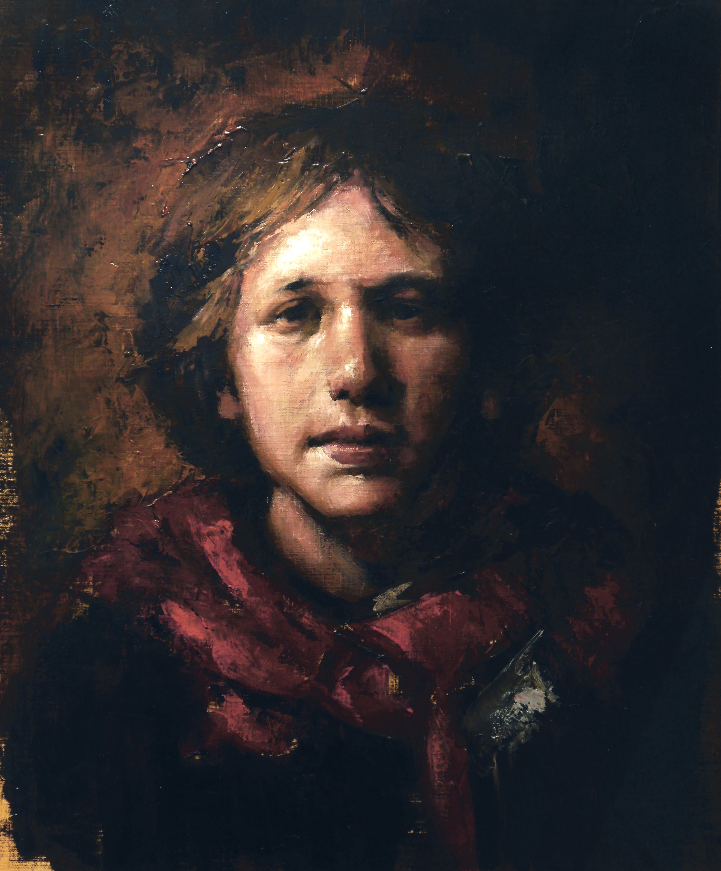 Copy of Odd Nerdrum Self-portrait