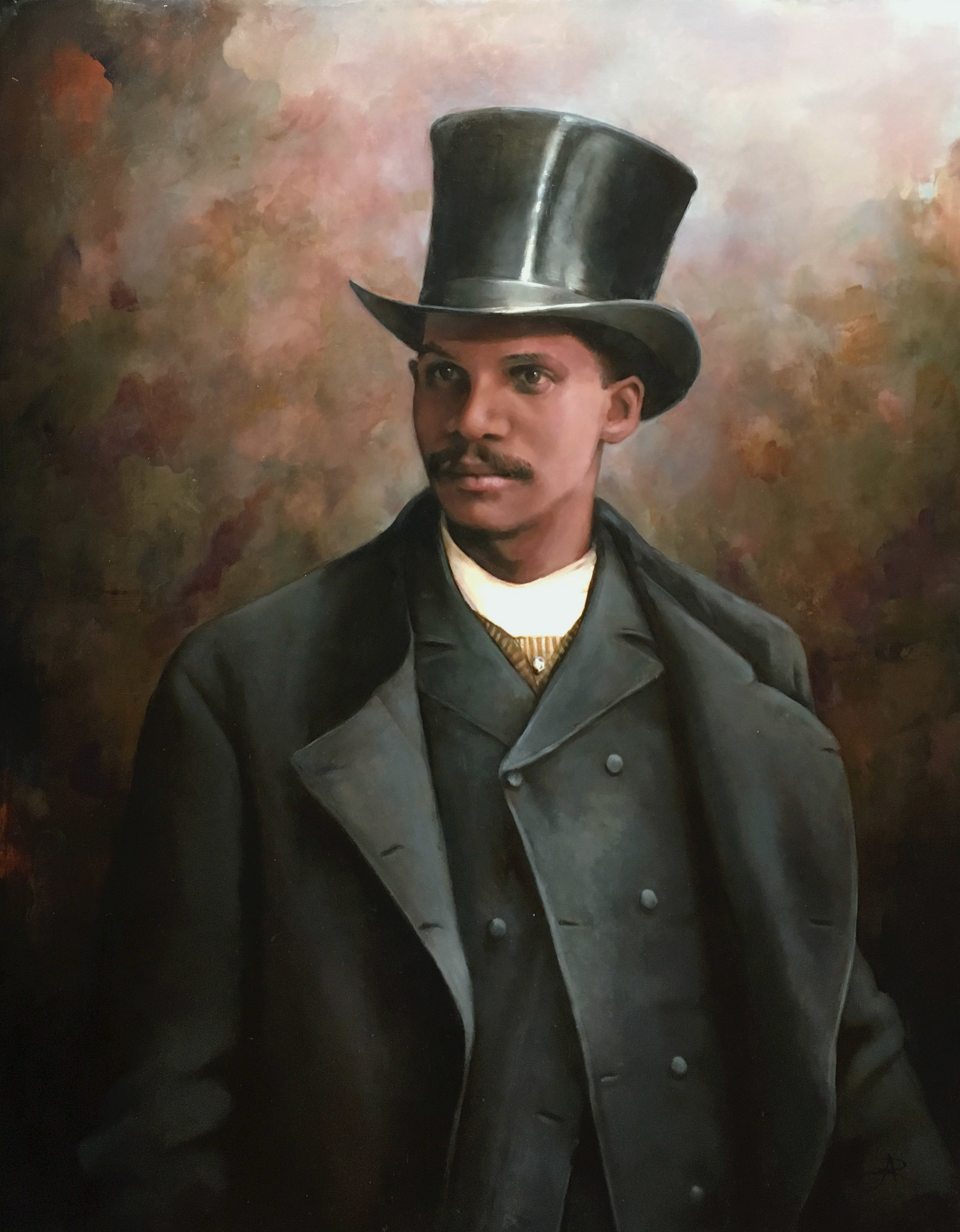 Rep. William Webb Ferguson, Oil on Linen, 2018
