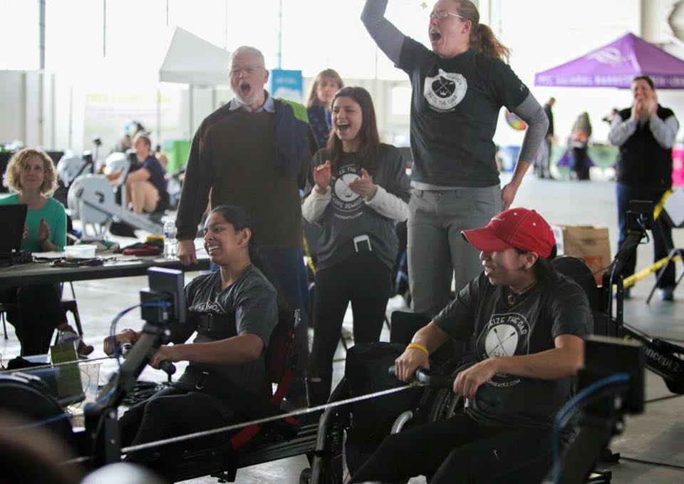 Since its beginning, Seize The Oar brings a record number of adaptive athletes to Ergomania!