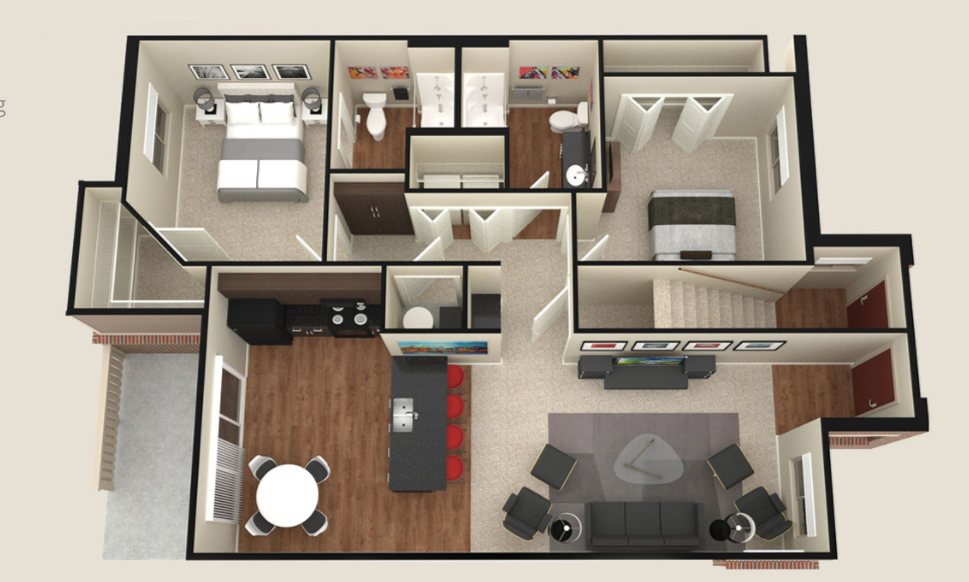 SunSTONE Two Bedroom
