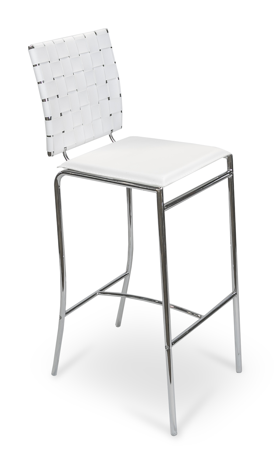 Criss Cross Barstool White from Furniture Options