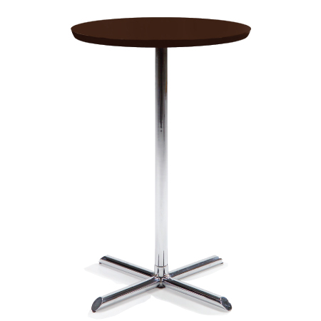 Blaise Pub Table Sliver/Black from Furniture Options