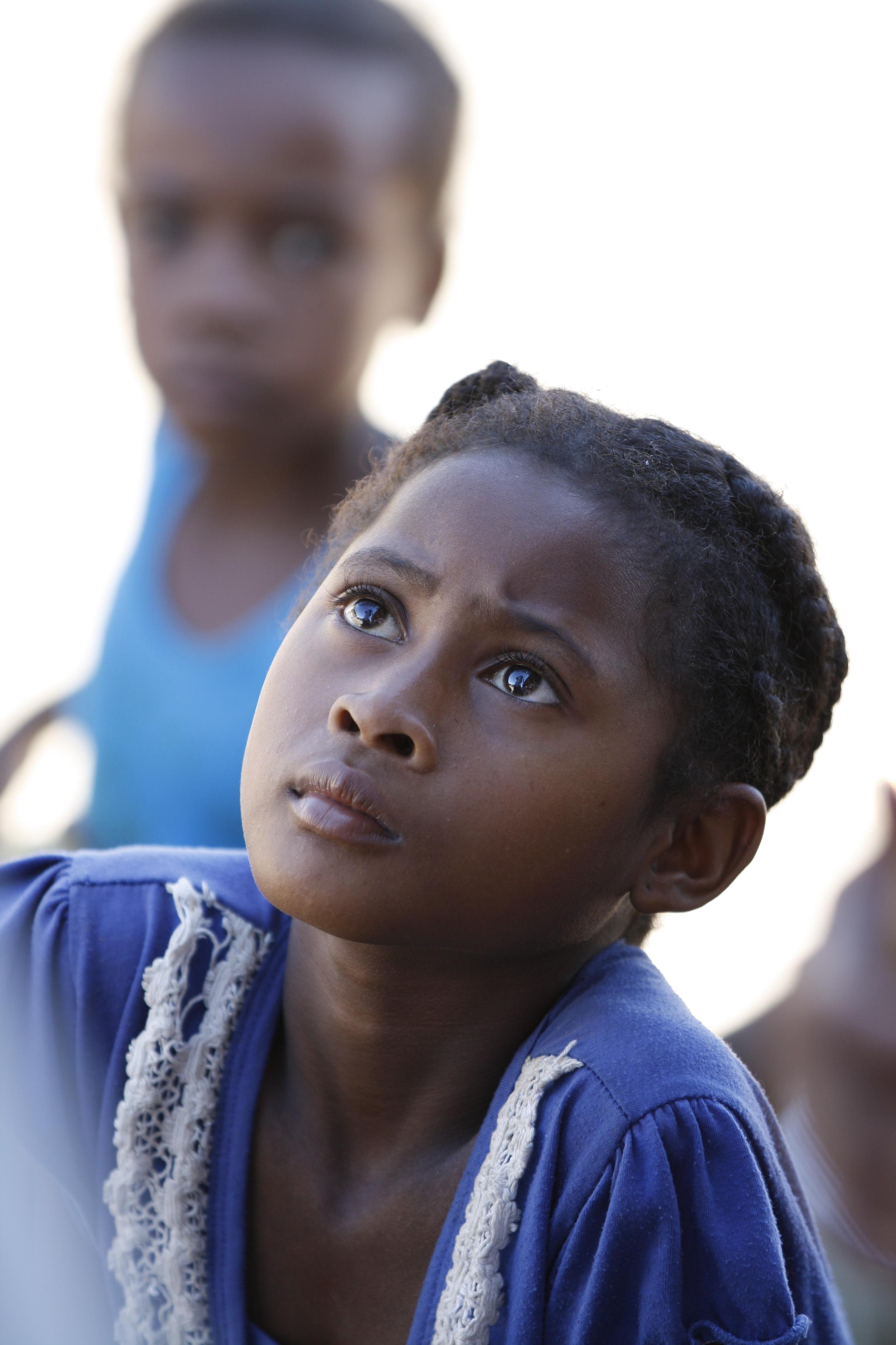 Young girl from Ambodivandrika (Vatomandry), Madagascar