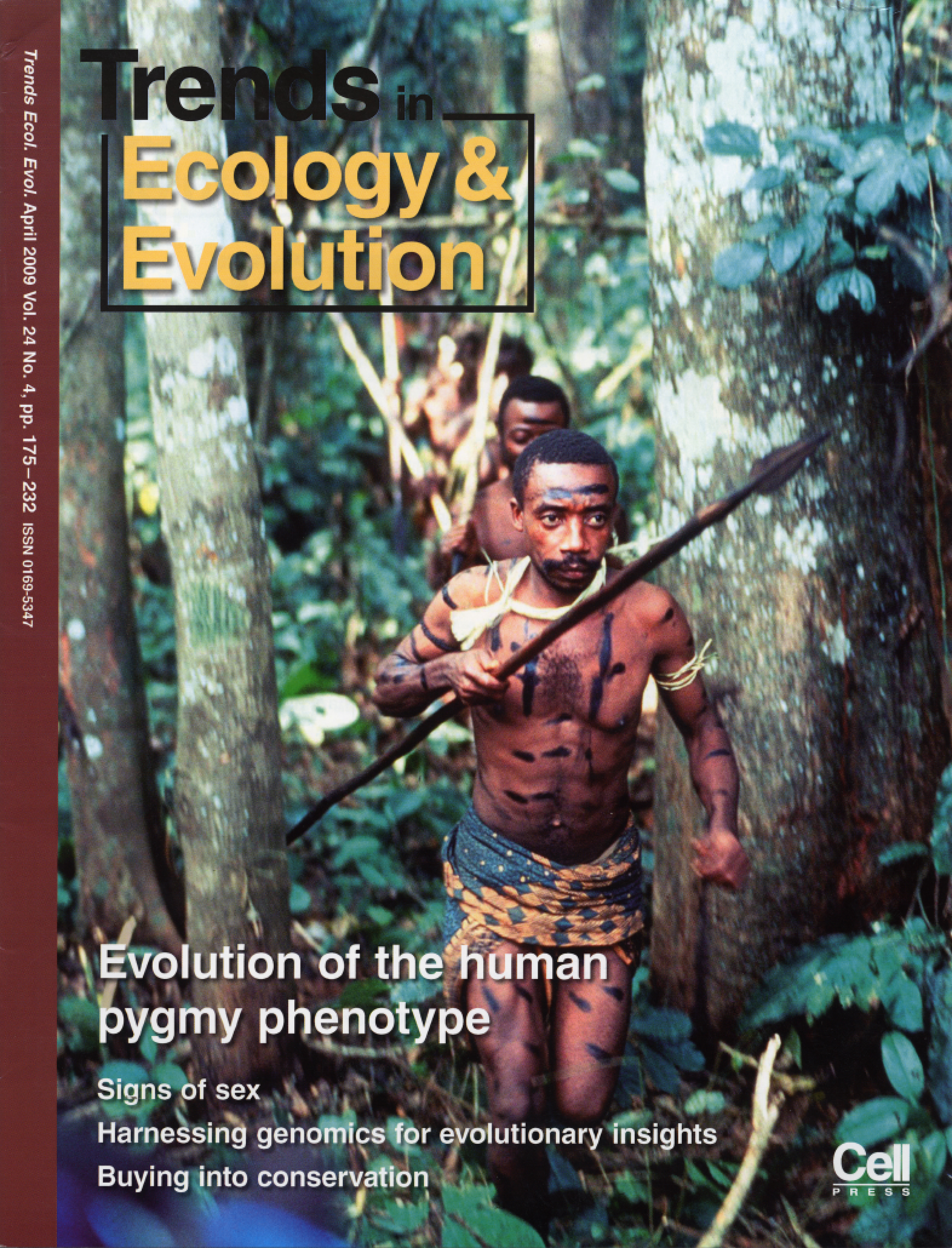 Trends in Ecology and Evolution  cover for  Perry & Dominy (2009) .