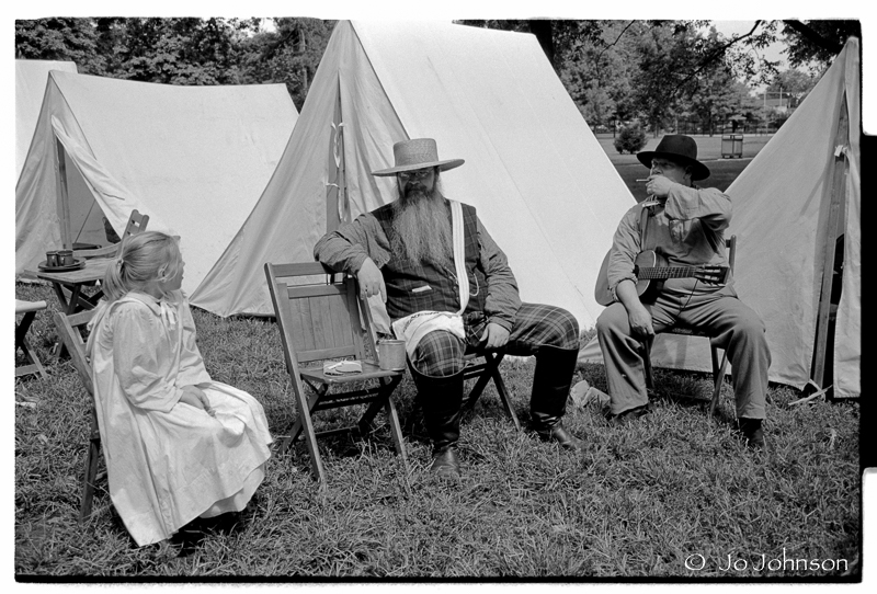 Reenactors Lawrence KS 2005