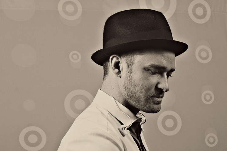 Justin Timberlake for Target -  Photo Credit Scott Streble