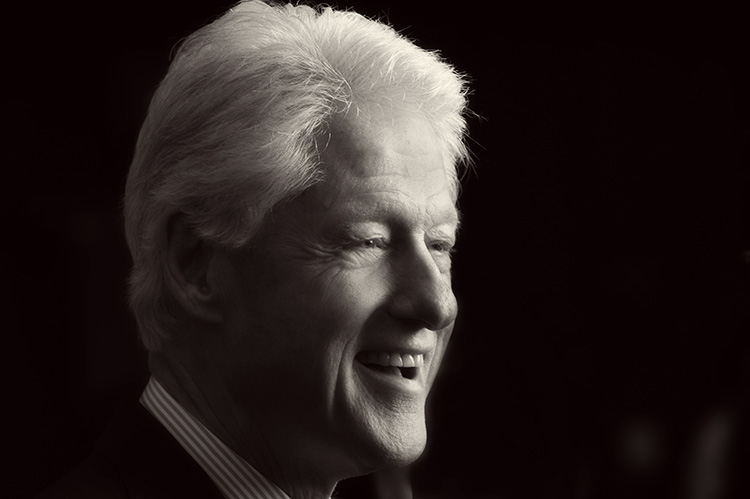 President Clinton for the Humphrey Institute -  Photo Credit Scott Streble