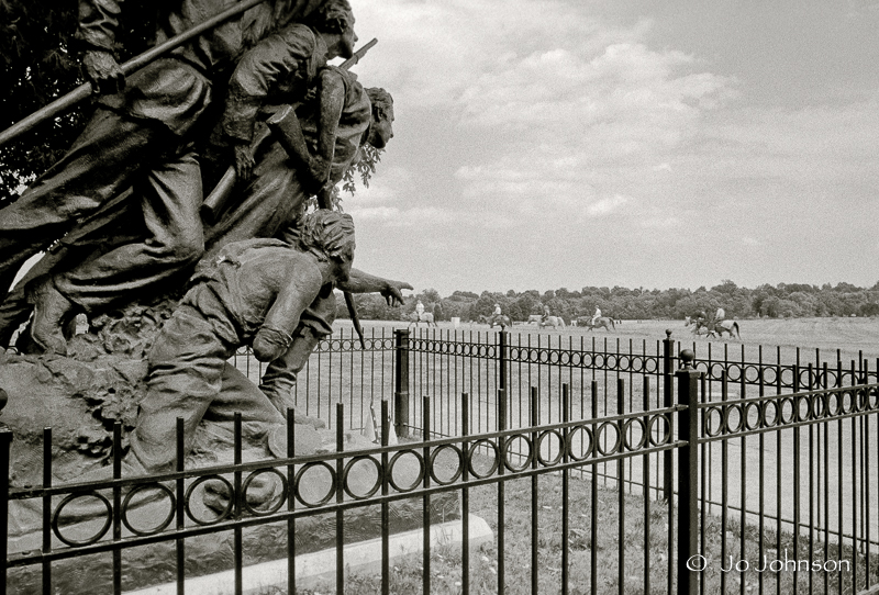 North Carolina Monument on Seminary Ridge (2001)