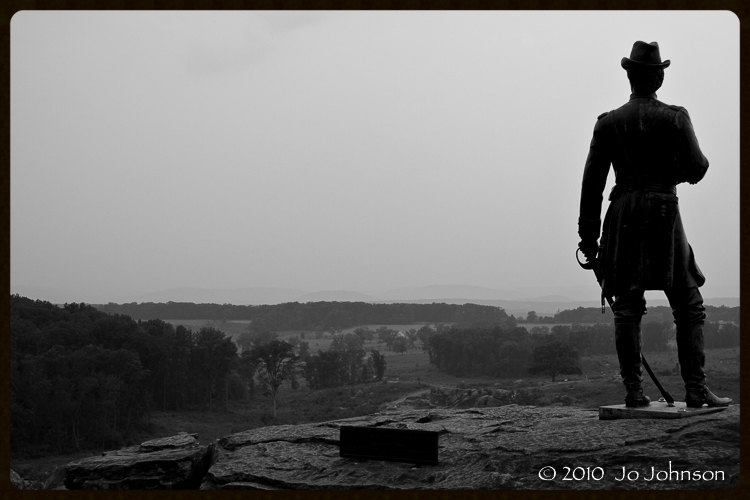 View of Seminary Ridge from Little Round Top (2010)
