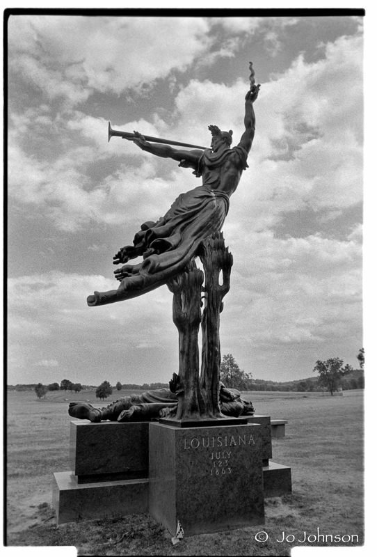 Louisiana State Monument   Artist: Donald DeLue