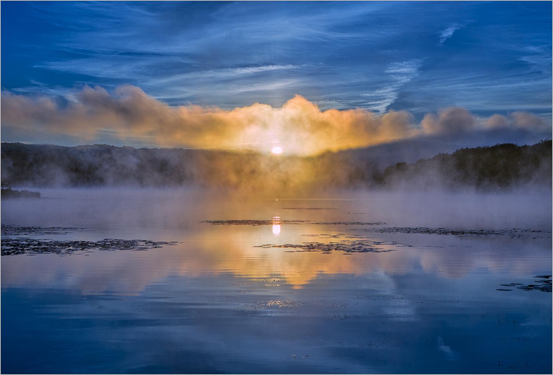 Lake Arthur Sunrise ( Photo Credit Howard Grill )