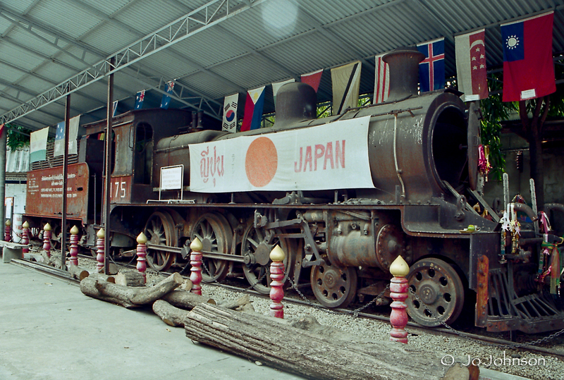 Exhibit at The Thailand-Burma Railway Centre (2003)