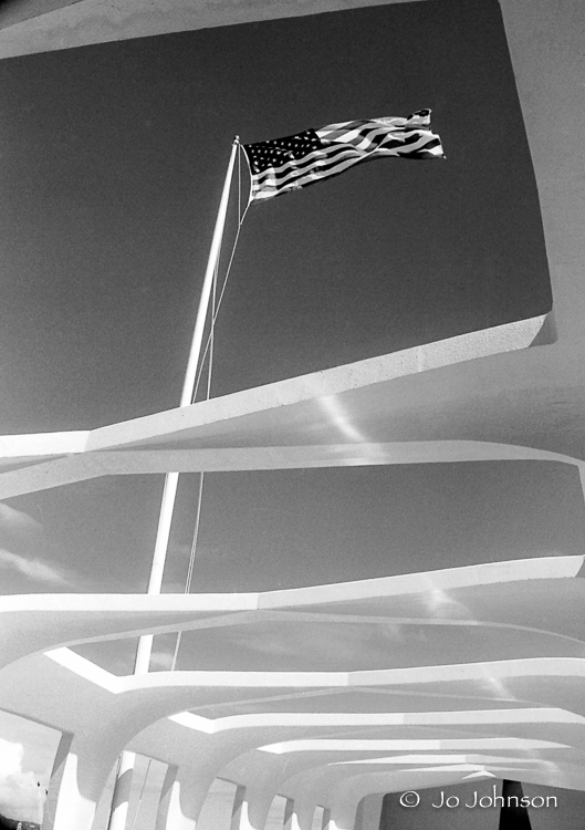 USS Arizona Memorial, Pearl Harbor, Hawaii (2002)