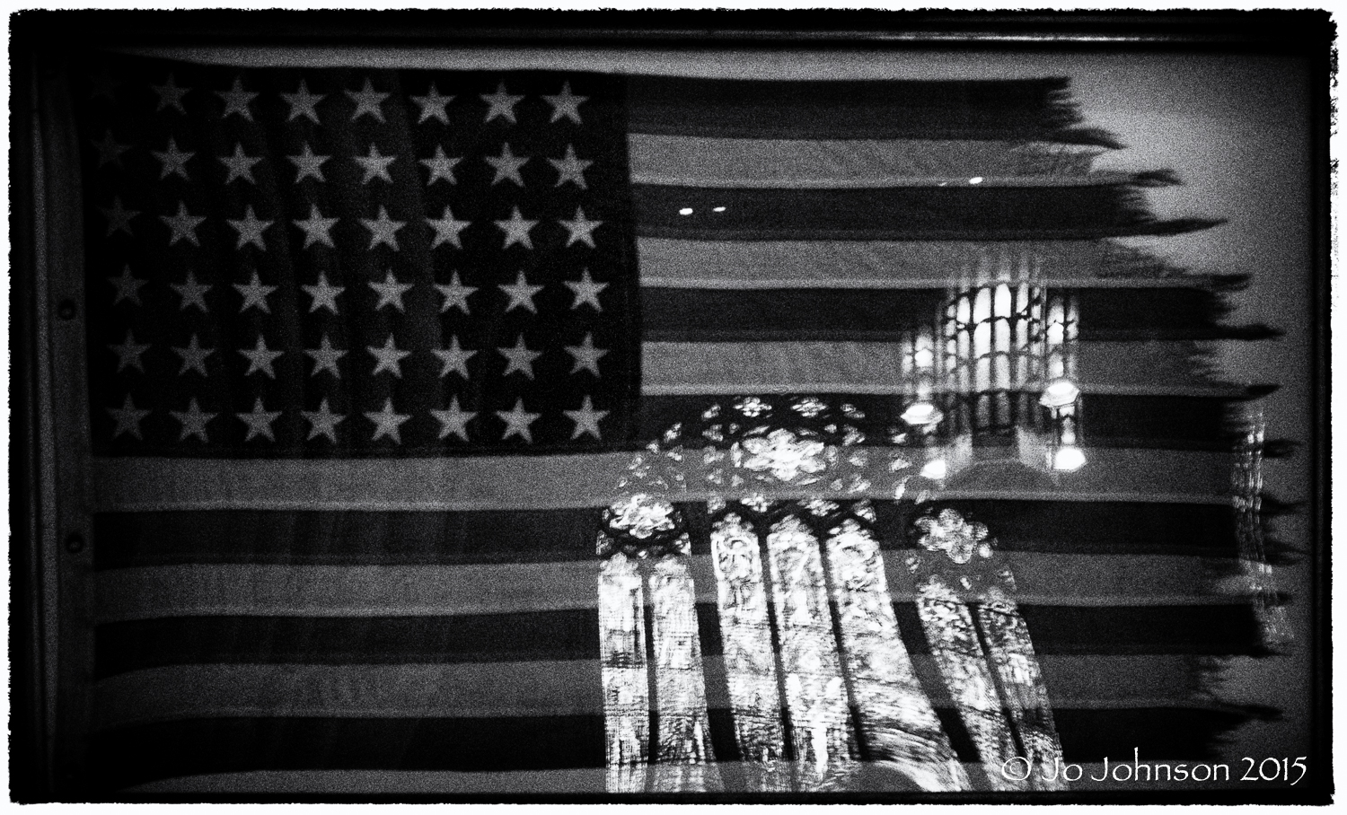 Service flag from the USS Princeton - Princeton University Chapel
