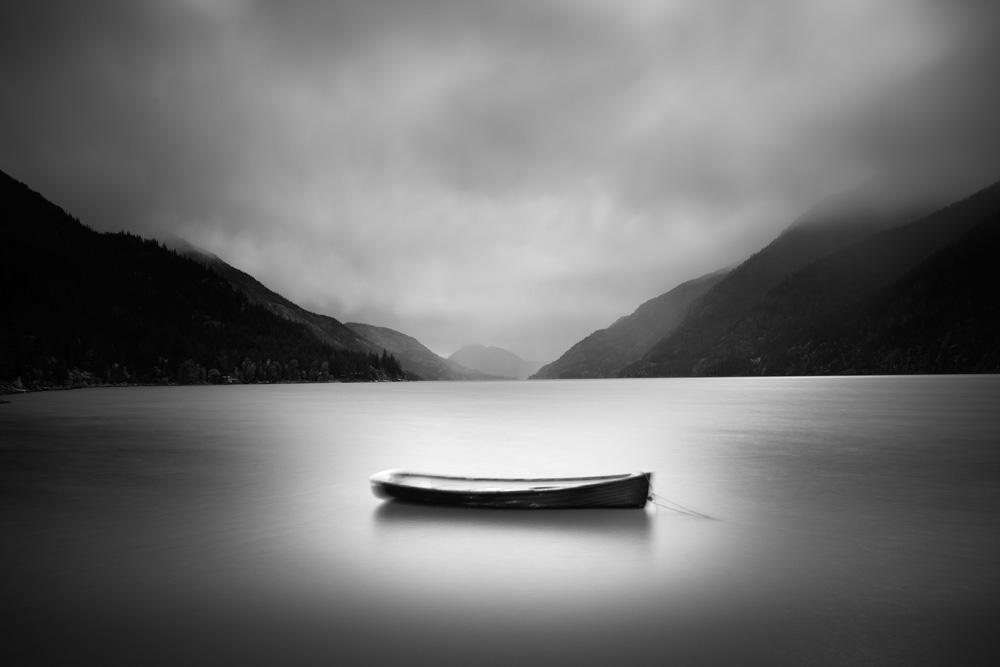 Lone Boat, Stehekin, WA  (Photo Credit: Chuck Kimmerle)