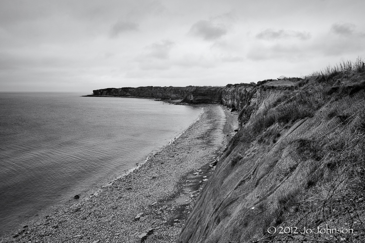 Cliffs at Pointe Du Hoc