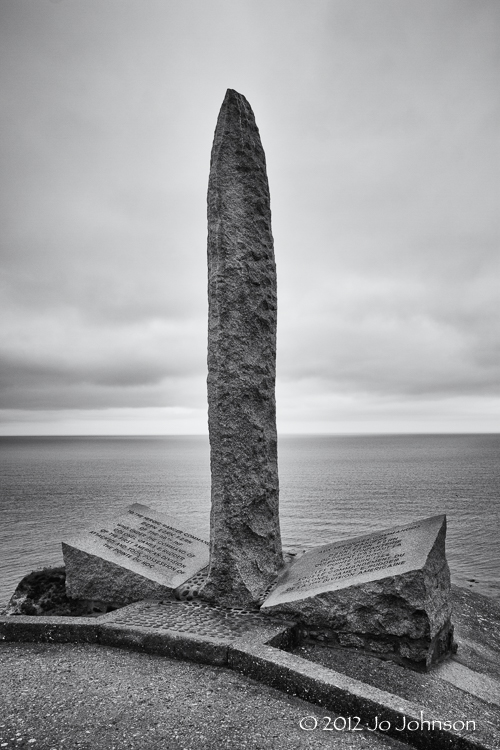 Ranger Memorial at Pointe Du Hoc