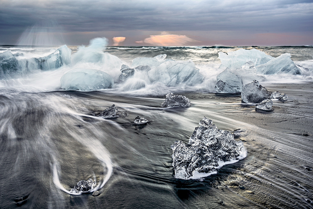 Ice Beach  (Photo Credit: Dan Sniffin)