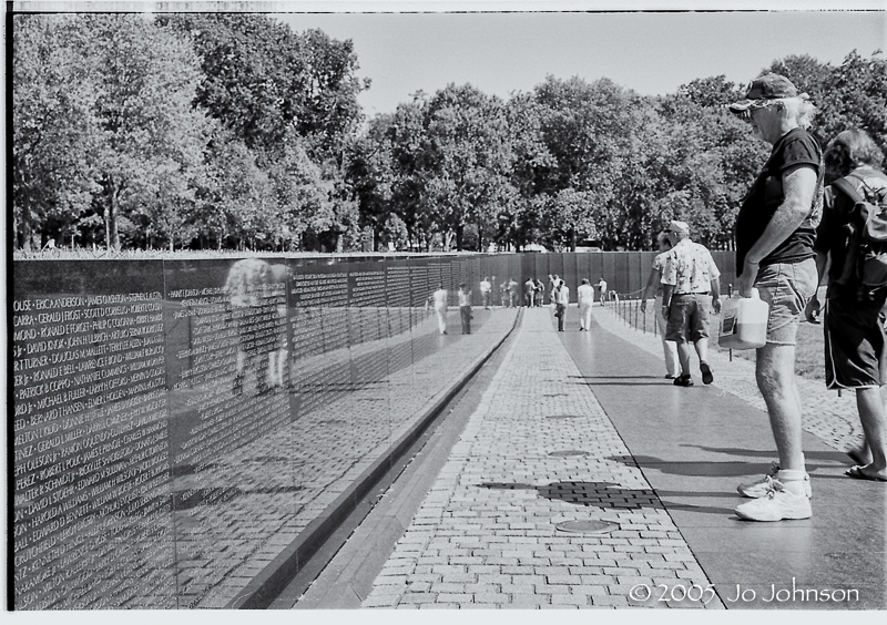 Vietnam War Memorial, Washington DC 2005