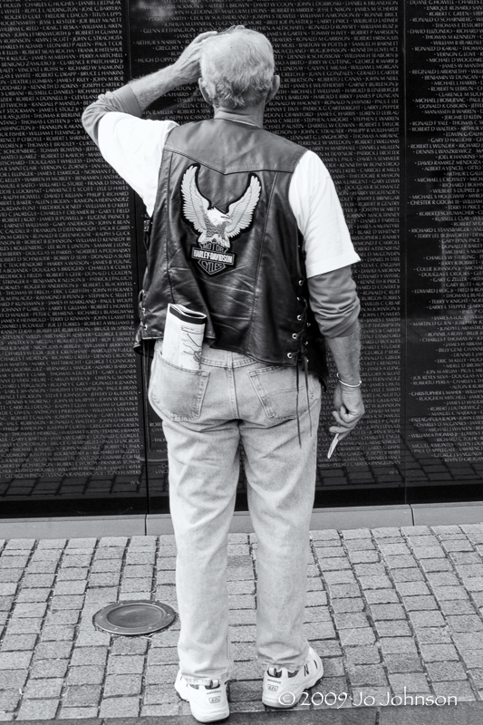 Vietnam War Memorial, Washington DC 2009
