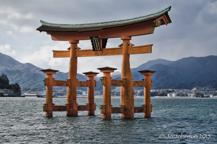 Itsukushima Shrine on Itsukushima Island (More popularly known as Miyajima Island)