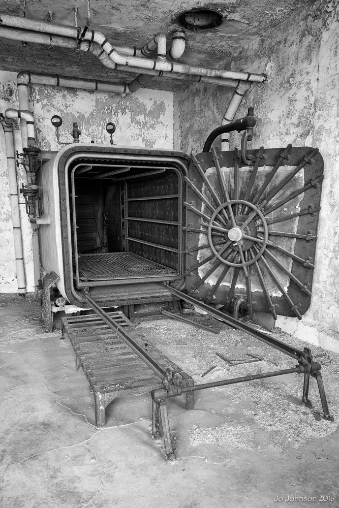 Ellis Island Hospital (Mattress decontamination)