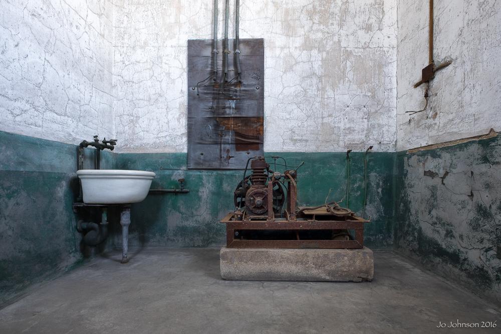 Ellis Island Hospital (Room off autopsy room)