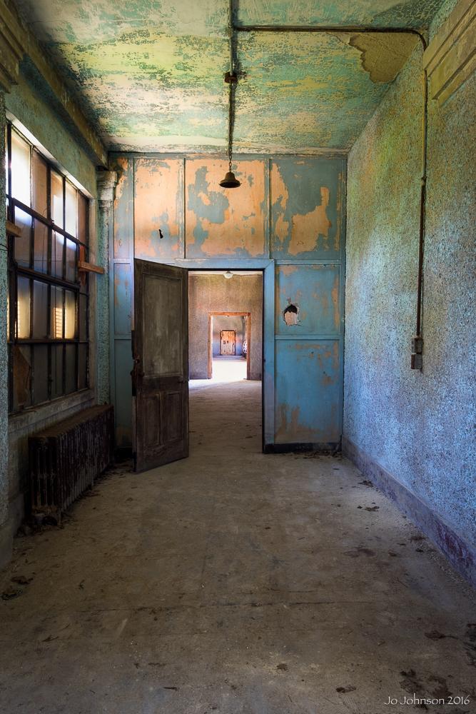 Ellis Island Hospital (Hallway)