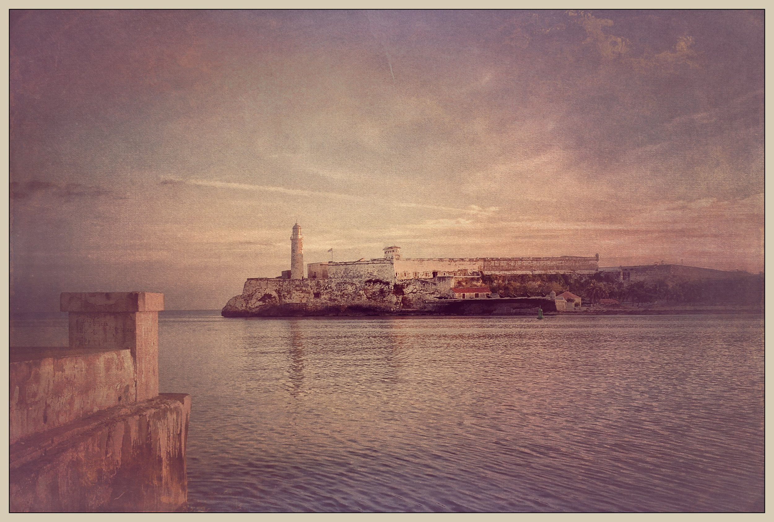 Morro Castle across Havana Harbor  [Photo Credit: Rad A. Drew]
