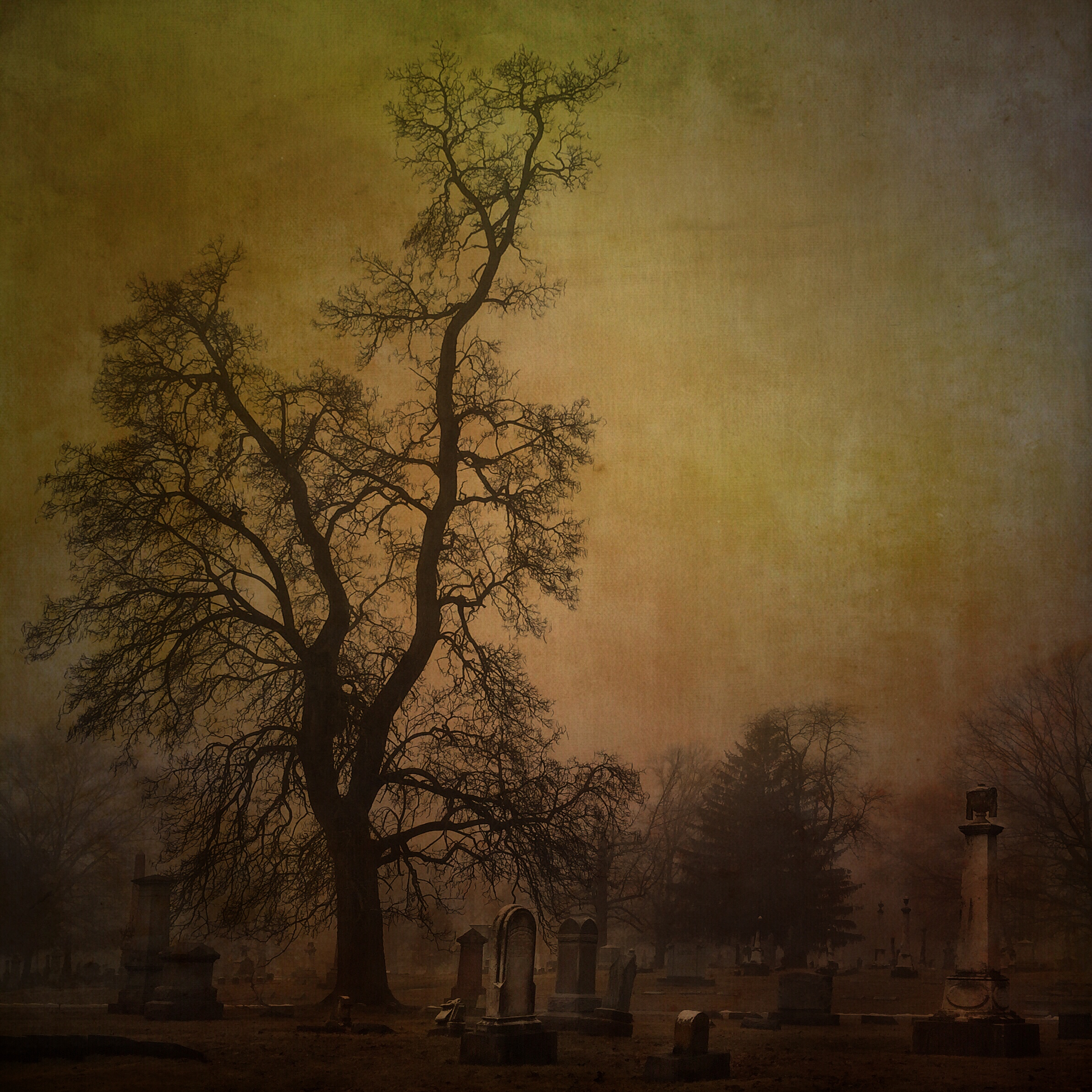 Sentinel, Crown Hill Cemetery  [Photo Credit: Rad A. Drew]