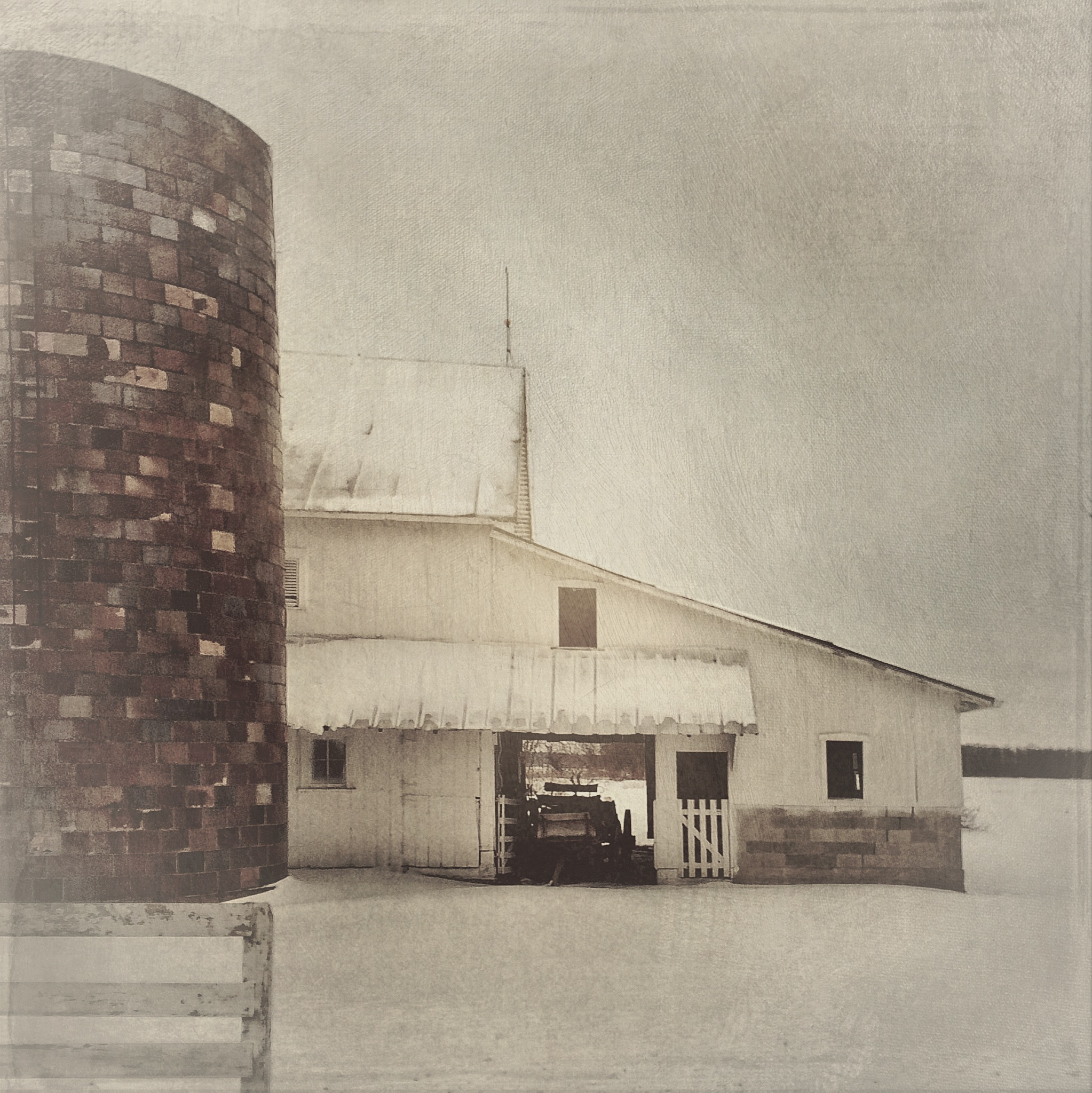 Hoosier Barn, February  [Photo Credit: Rad A. Drew]