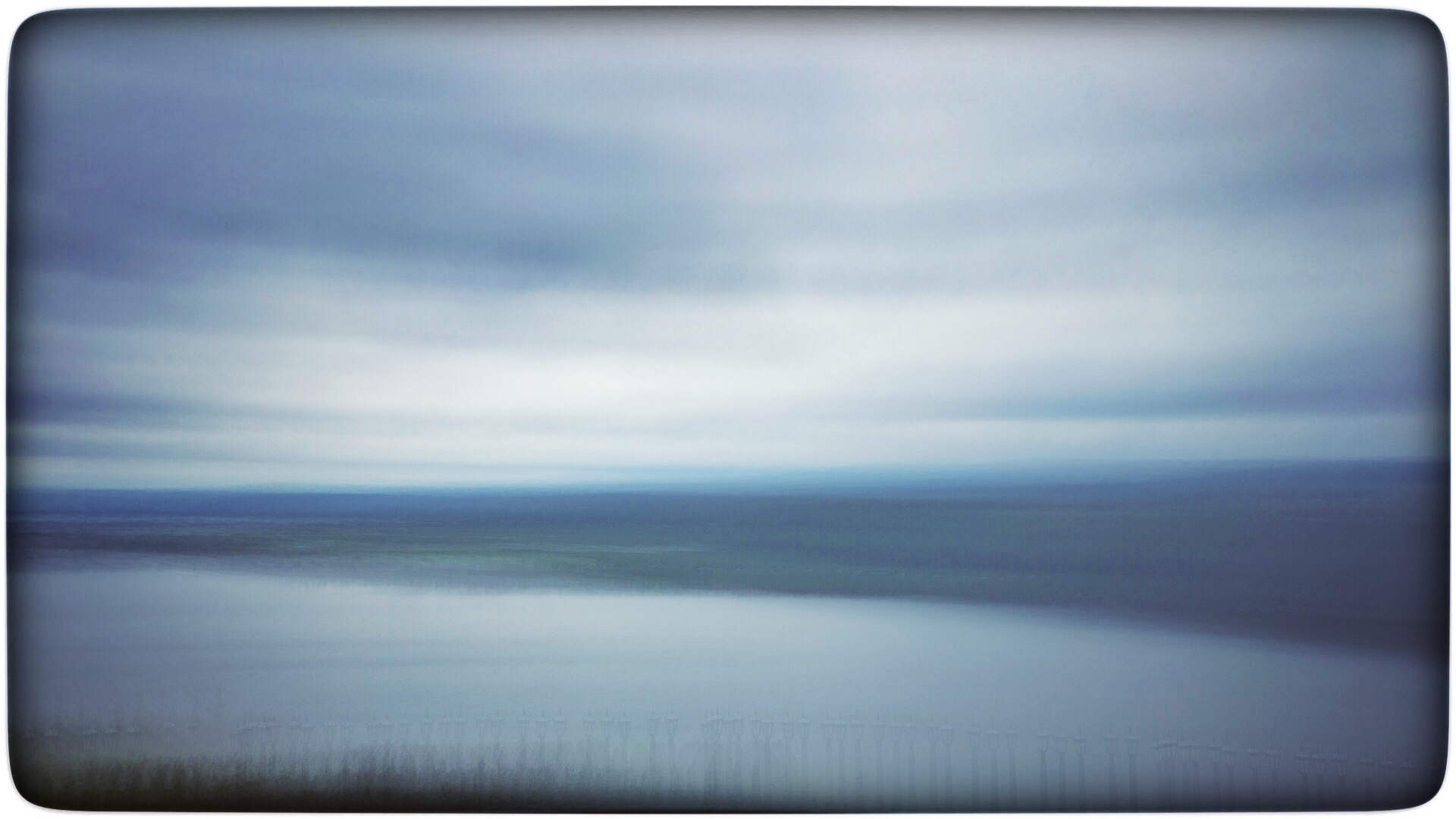 iPhone Abstract - Columbia River Gorge