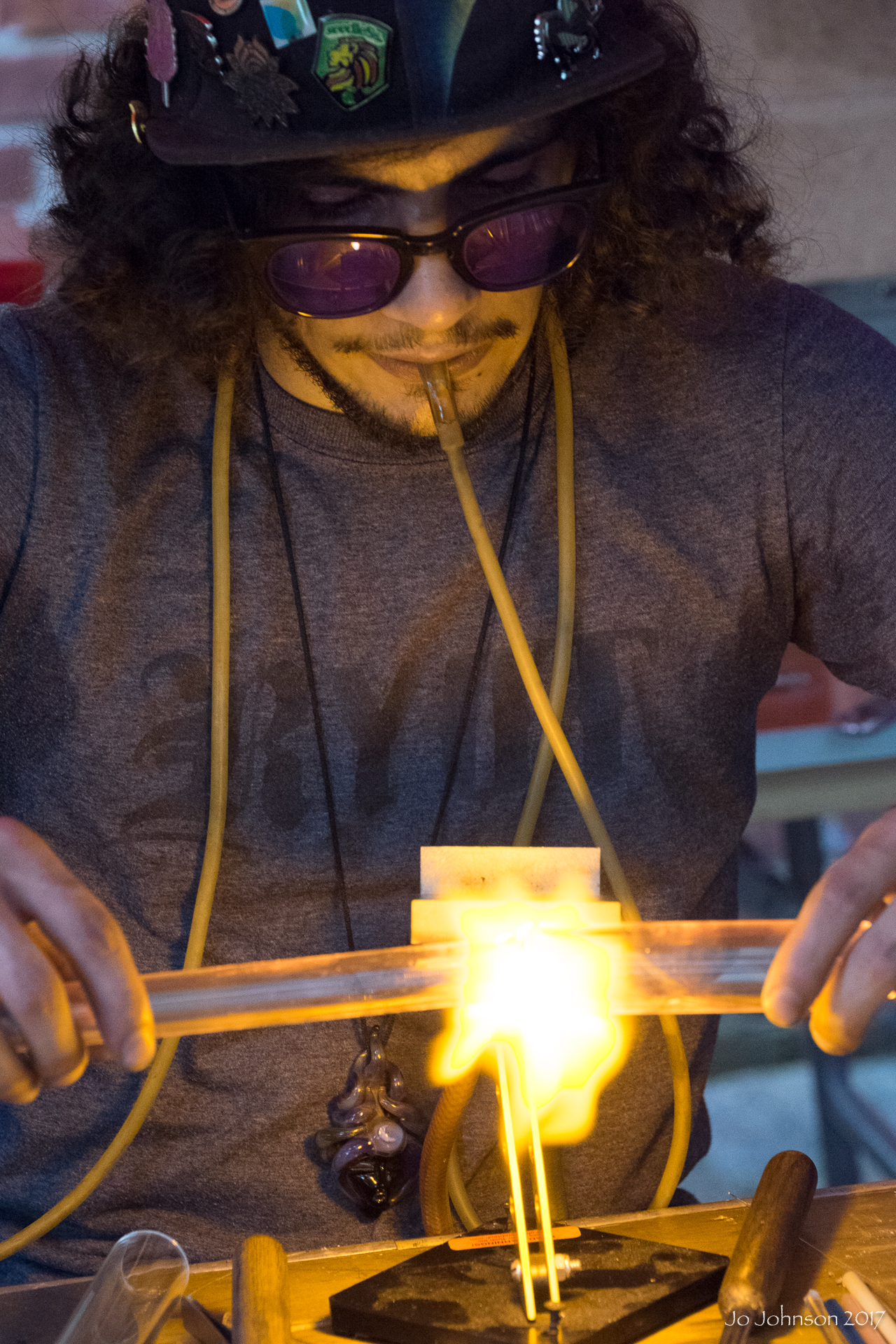 """Glass Blowers @ Art All Night"" - Trenton, NJ"
