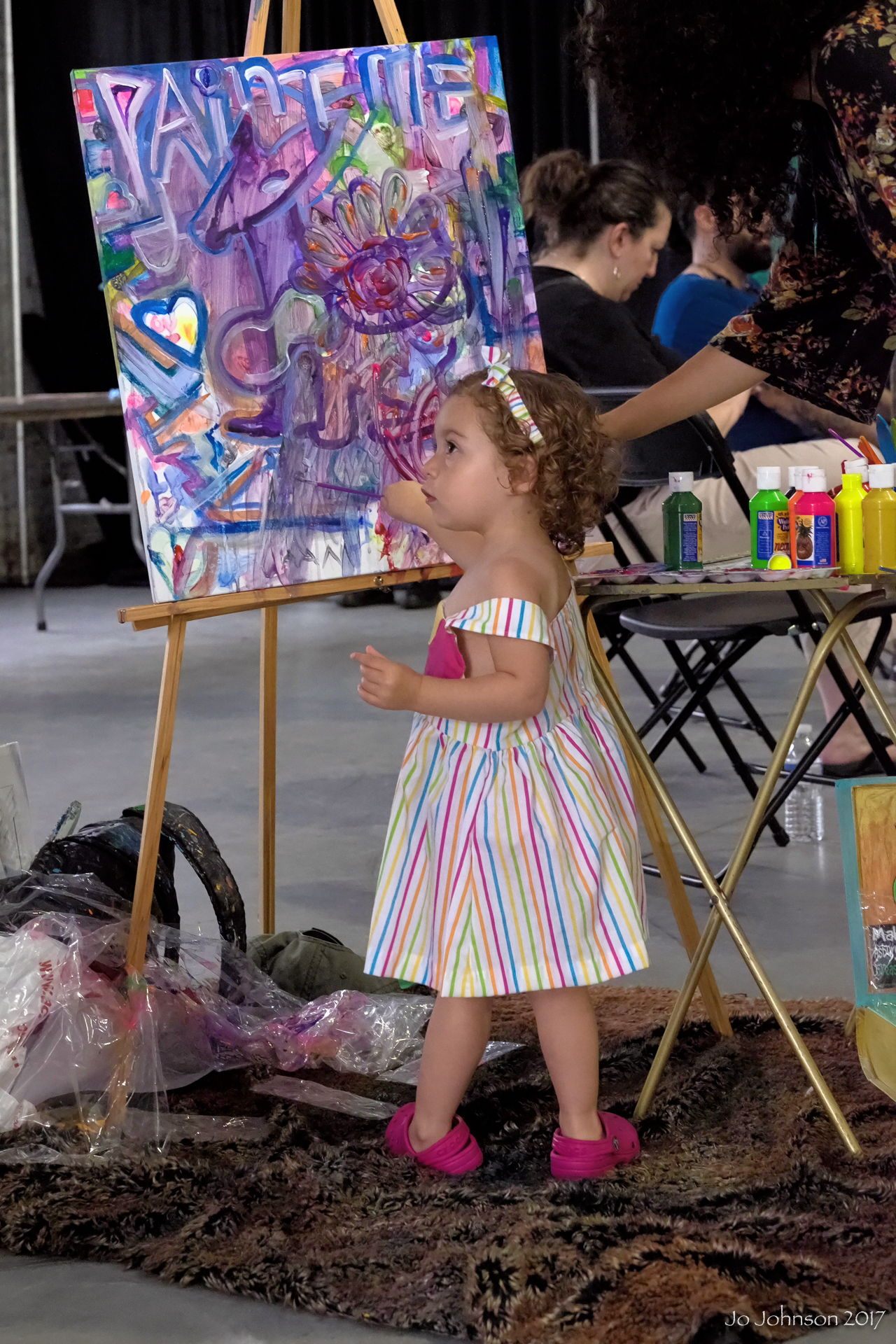 """Budding Artist @ Art All Night"" - Trenton, NJ"