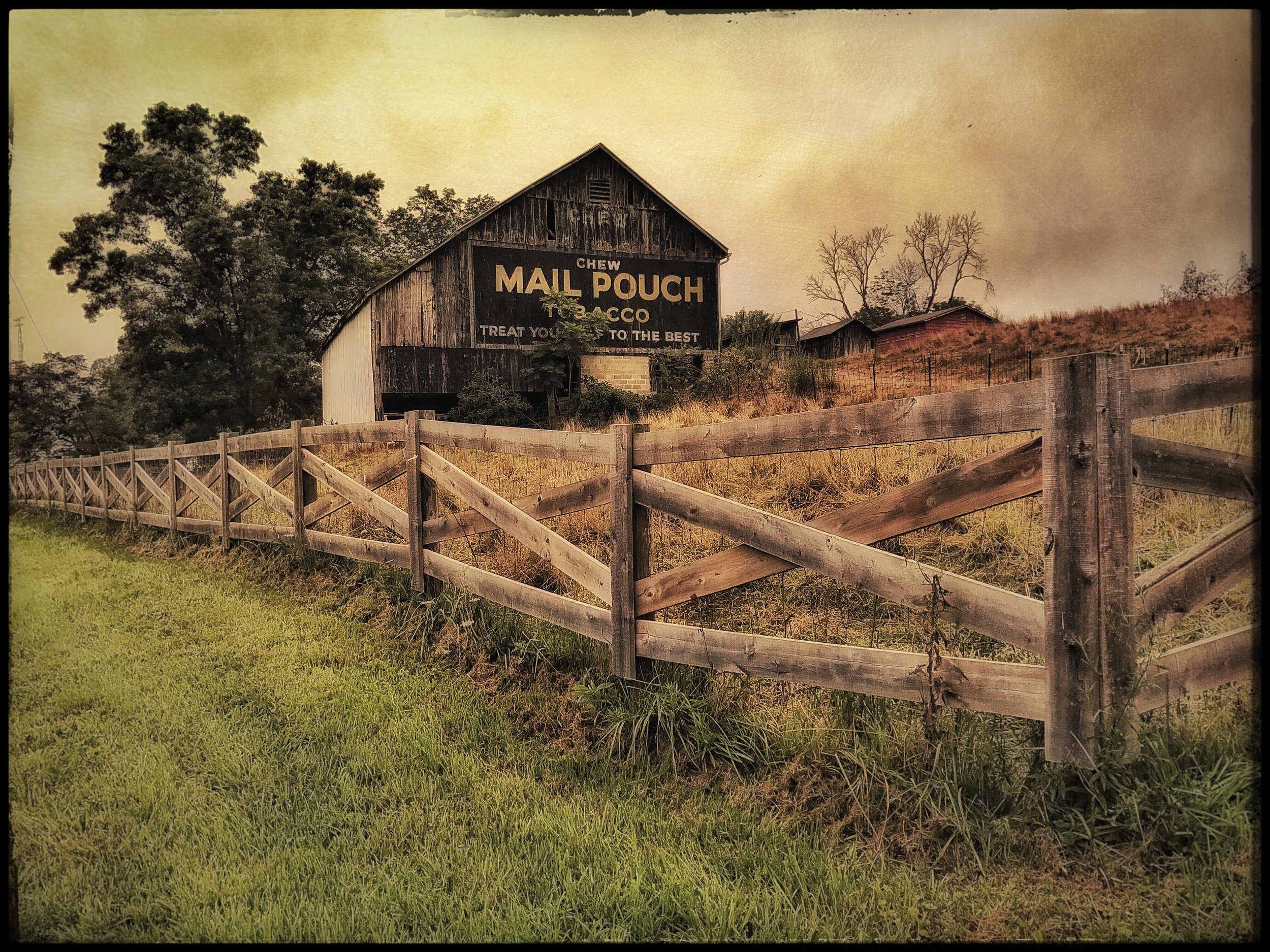 """Discovering iPhone Art with Mail Pouch"" - Ohio"