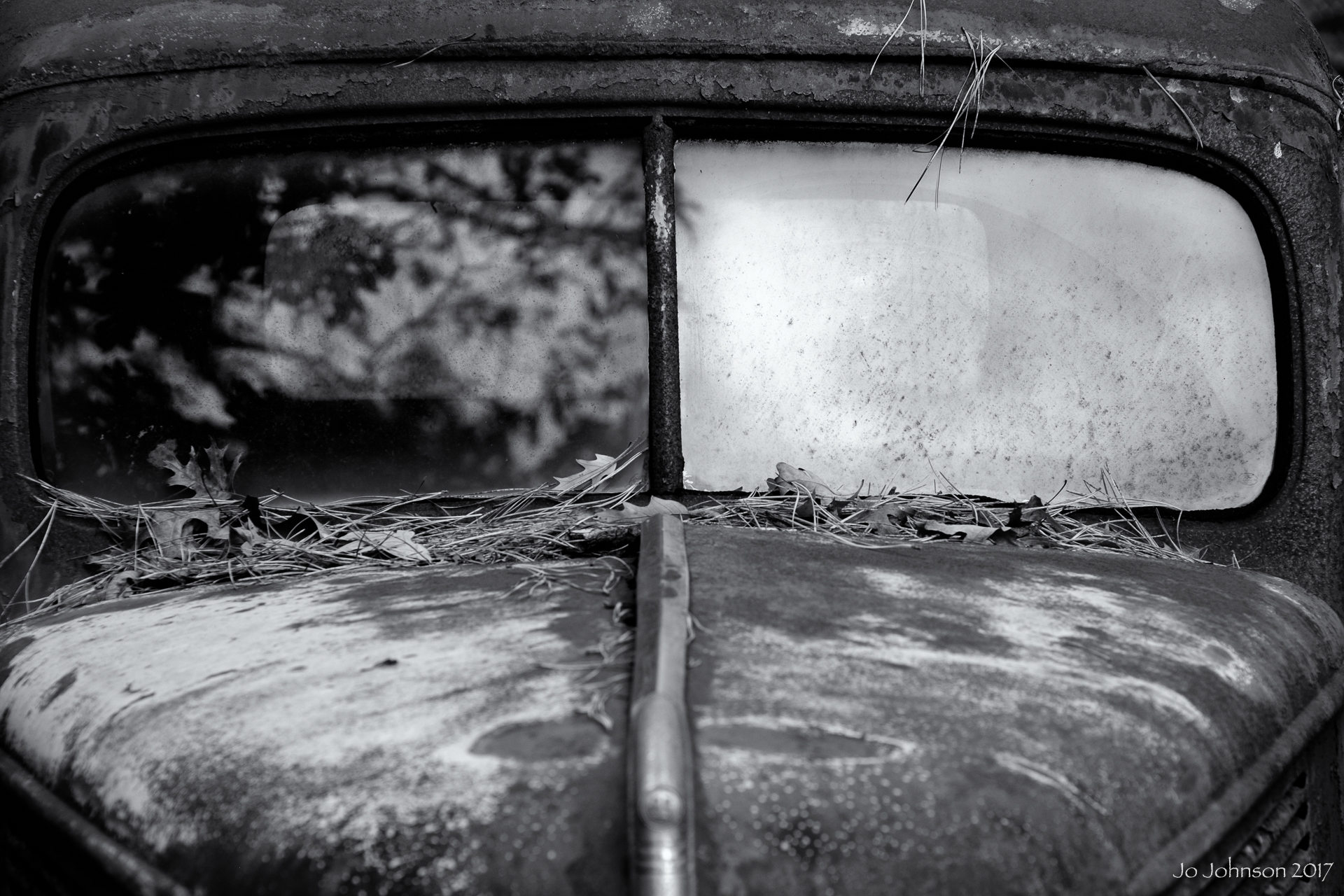 """Abandoned Car"" - South New Jersey"